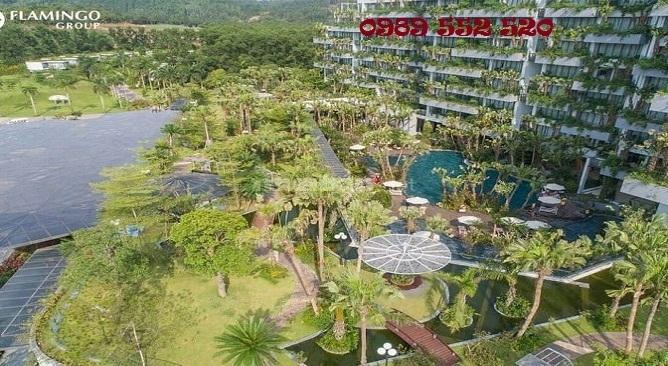 Flamingo cát bà là khu nghỉ dưỡng duy nhất mang được không gian xanh lên tầng cao