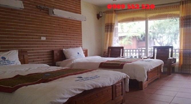 khách sạn vân hải xanh ở quan lạn