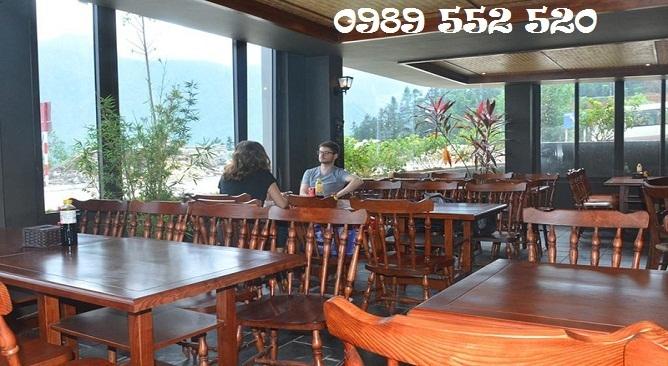nhà hàng khách sạn sapa vista