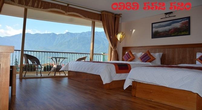 Phòng Delux khách sạn sapa panorama