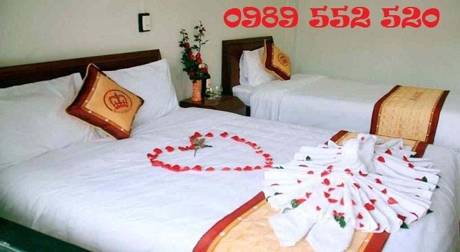 phòng ngủ khách sạn hoàng gia sapa