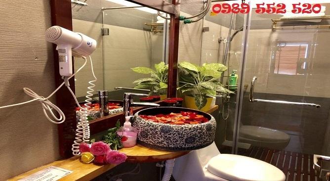 phòng tắm sapa elite hotel