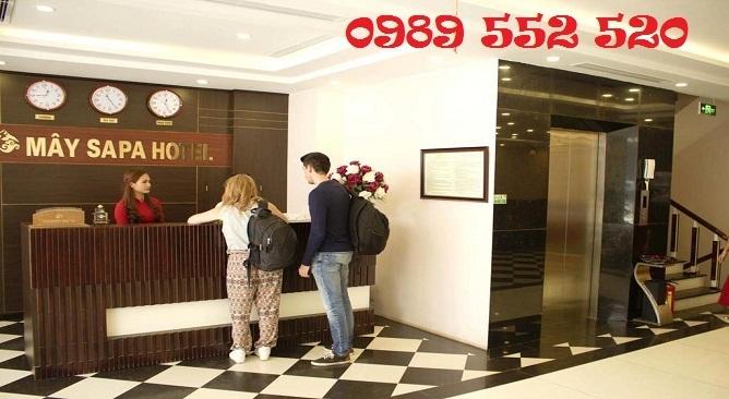 sảnh may sapa hotel