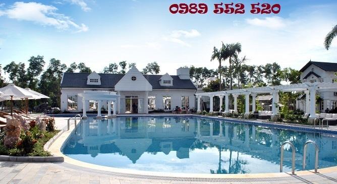 bể bơi vườn vua resort