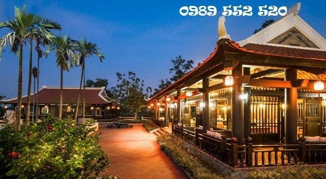 nhà hàng sen vườn vua resort phú thọ