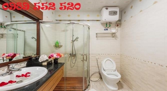 phòng tắm khách sạn elegance sapa