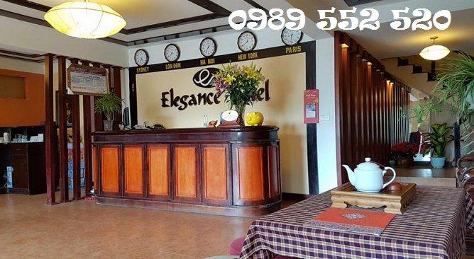 sảnh sapa elegance hotel