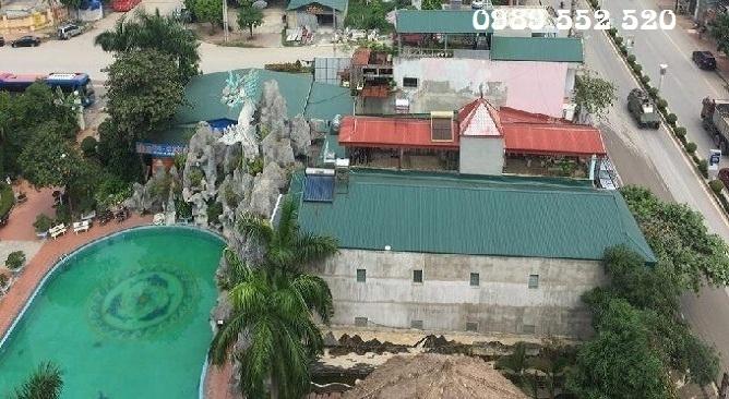 bể bơi long giang điện biên hotel