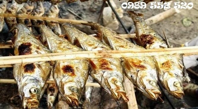 đặc sản ba bể - cá nướng