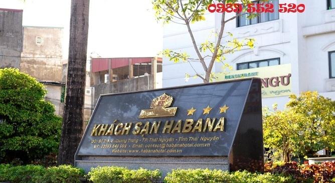 habana thái nguyên hotel