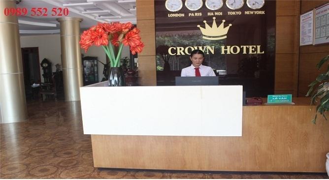 sảnh crown thái nguyên hotel