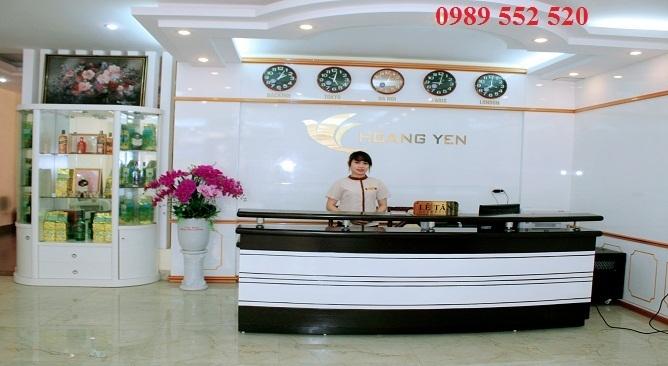 sảnh khách sạn hoàng yến thái nguyên