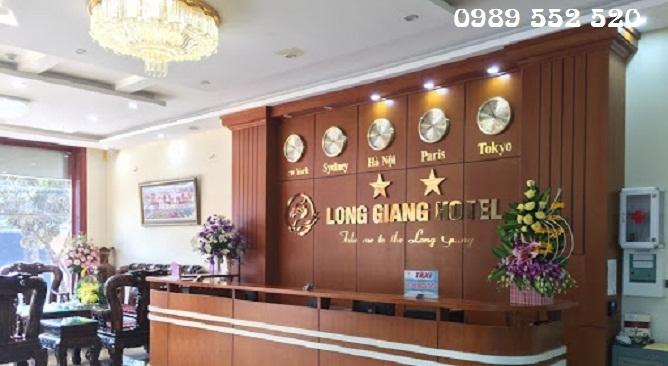sảnh khách sạn long giang điện biên