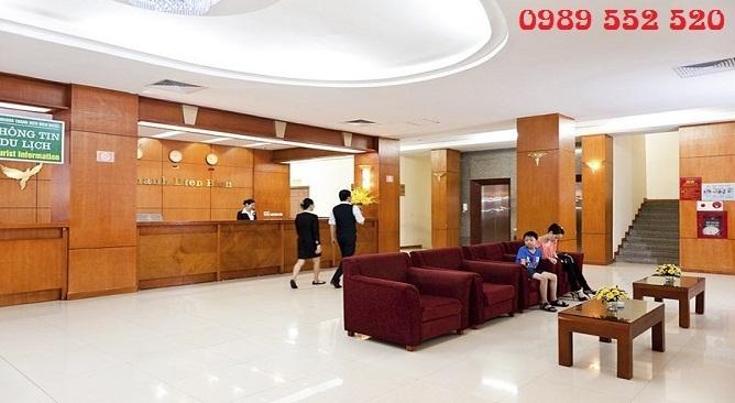 sảnh khách sạn mường thanh điện biên phủ