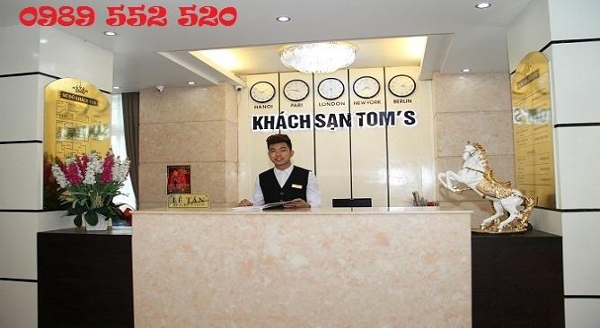 khách sạn tom's thái nguyên