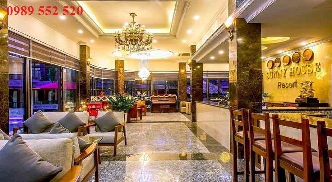 sảnh sunny resort thái nguyên