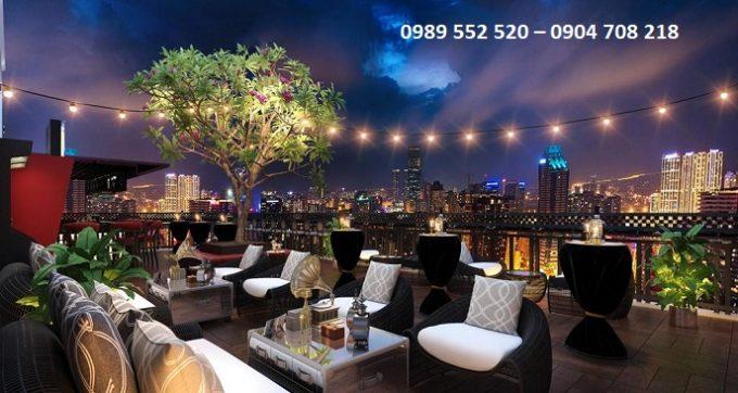 Bar Sky khách sạn mina hà nội