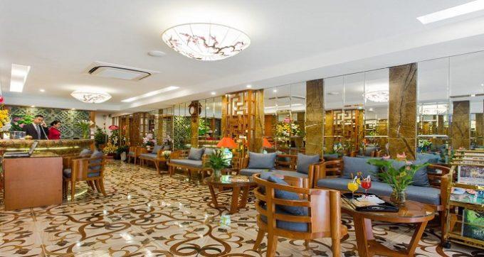 không gian sảnh - nhà hàng
