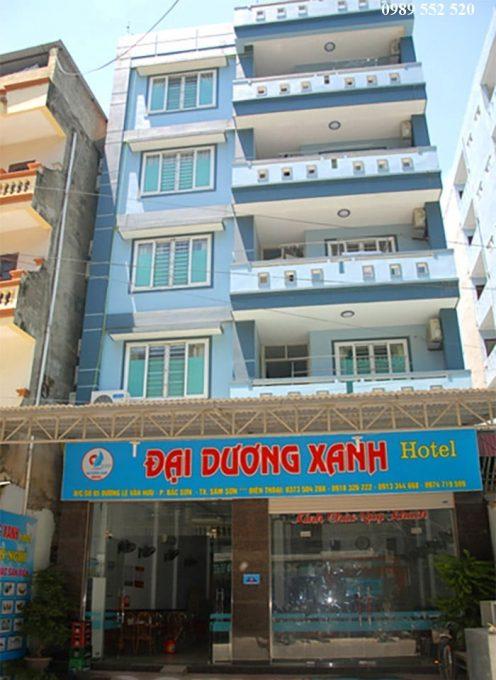 đại dương xanh sầm sơn hotel