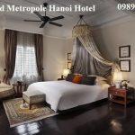 Top các khách sạn nổi tiếng Hà Nội đẹp, cao cấp
