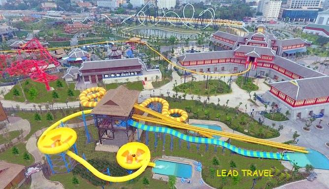 công viên nước typhoon water park