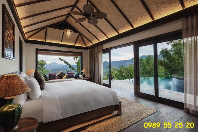 phòng senna hilltop pool villa 2 bedroom