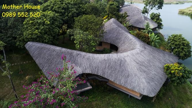khu resort làng mít