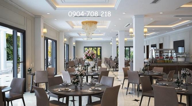 nhà hàng glory resort